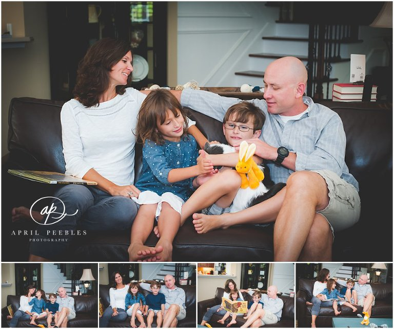 modern family lifestyle photography